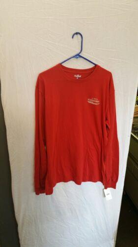 Carhartt long sleeve screened t-shirt size medium K5494RDO