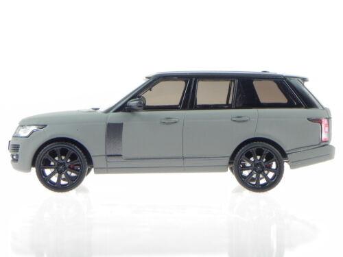 Range Rover 2013 matt grau Dach schwarz ModellautoPRD409 PremiumX 1:43
