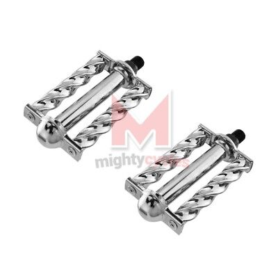 "NEW Bicycle Twisted Pedals 1//2/"" Gold Beach Cruiser Chopper Custom Lowrider Bikes"