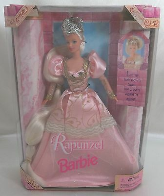 Barbie as Rapunzel with Crown Magic Fairy Tales Series Mattel 1997 ages 3+ New