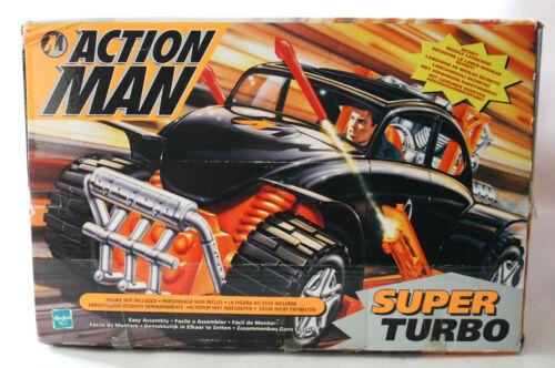 AMAZING VERY RARE 1999 ACTION MAN SUPER TURBO CAR VEHICLE HASBRO NEW MIB !