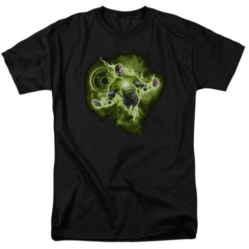 Green Lantern LANTERN NEBULA Licensed Adult T-Shirt All Sizes