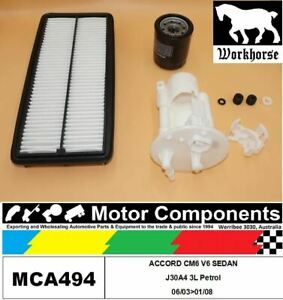 FILTER-SERVICE-KIT-for-Honda-ACCORD-CM6-V6-Sdn-J30A4-3L-Petrol-06-03-gt-01-08