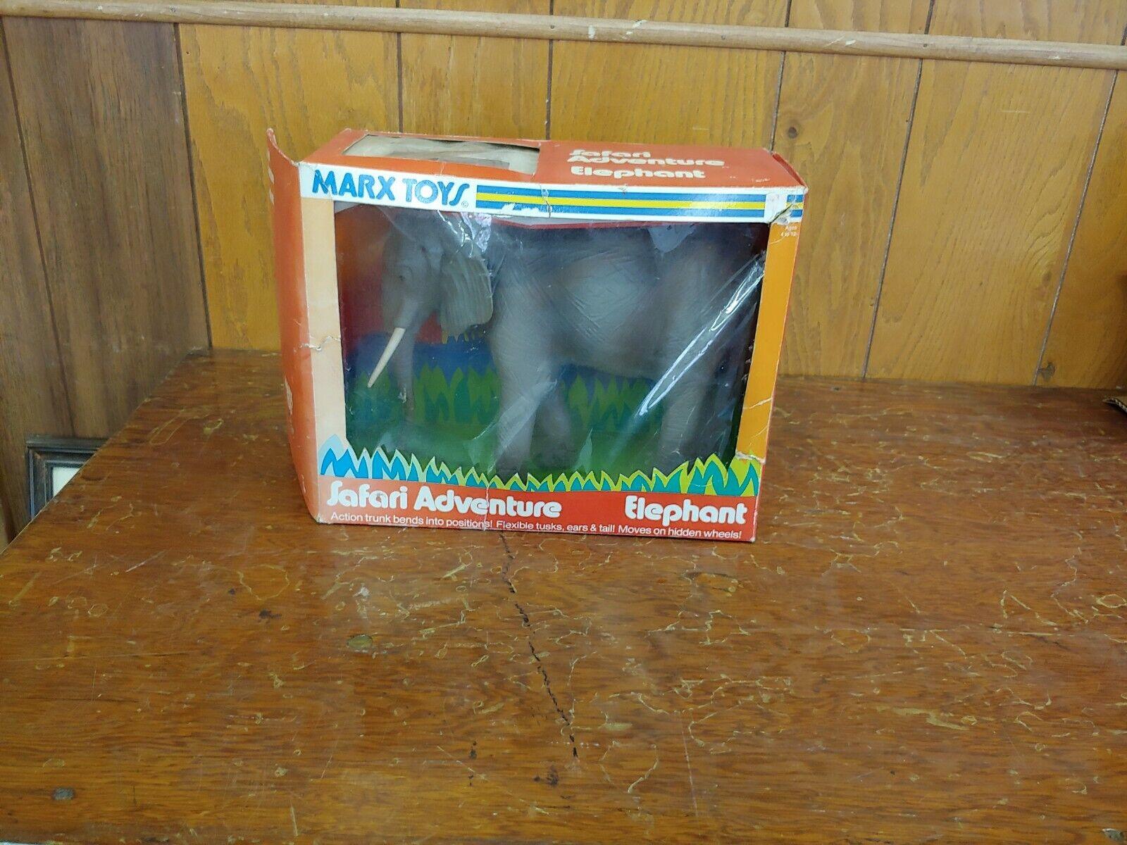 Marx Safari Aventura con caja de elefante