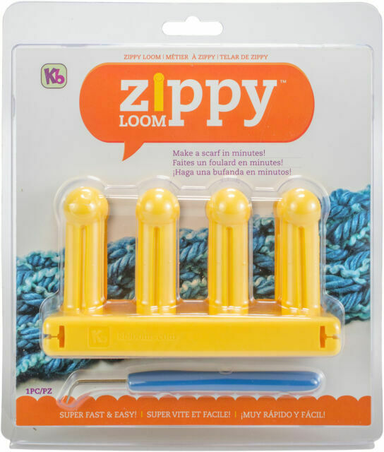Authentic Knitting Board KB Zippy Loom Project Book KB-8660