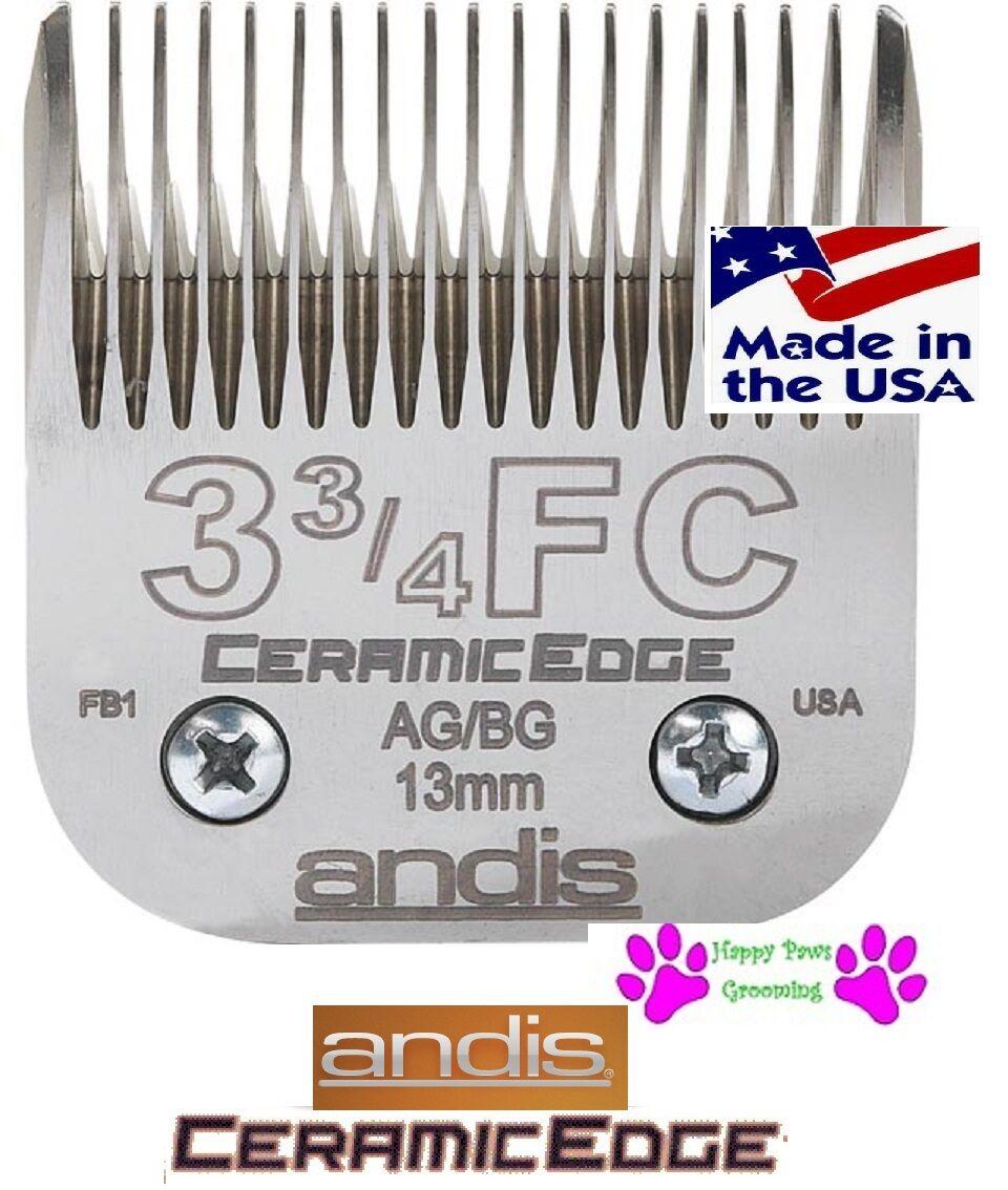 Andis 3 34FC 3F Ceramicedge A5 Ag Tosatrice Lama 12  13mm per Molti