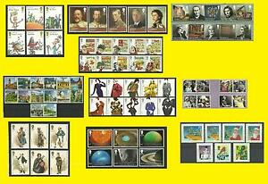 2012 Commemorative Issues SG 3254 to SG3421 each Sold Separately Mint nh