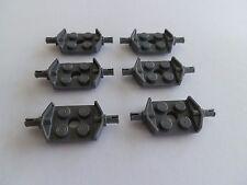 Lego 6157# 6x Achse Achsen 2x2 mit Pin Grau Neu Dunkelgrau 7894 7294 7601 4915