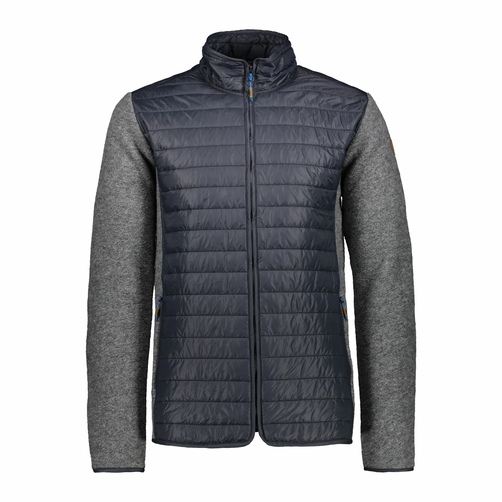 CMP Strickjacke Jacke Man jacke grau atmungsaktiv wärmännerd isolierend meliert