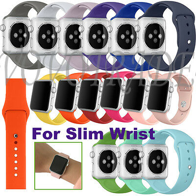 Short Releases Sports Silicone Bracelet Strap Band For Apple Watch 38mm/42mm