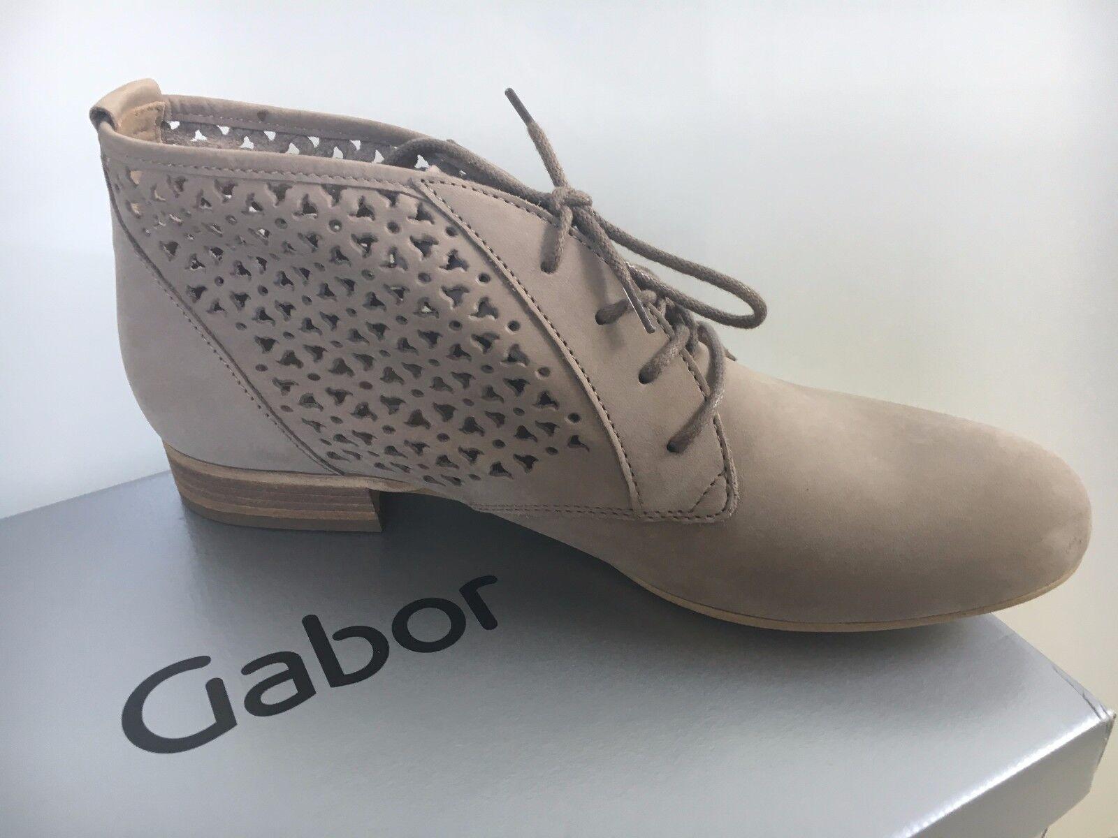 Gabor • Damen Nubuk Soft Halbschuhe
