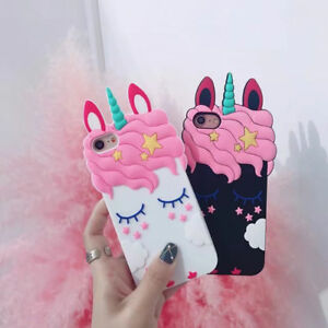 size 40 952ce 01d12 Details about 3D Unicorn Phone Case For iPhone X 5 6 7 8 Samsung Huawei  Xiaomi LG Motorola