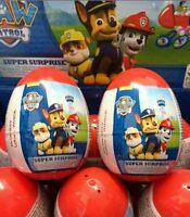 18 X Paw Patrol Super Surprise Plastic Eggs Party Bag Filler Gift Xmas birthday