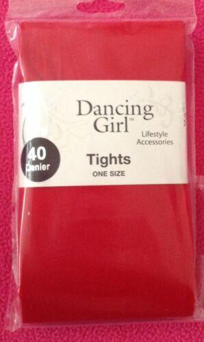 NEW LADIES PLAIN NEON BRIGHT HALLOWEEN FANCY DRESS 40 DENIER OPAQUE TIGHTS