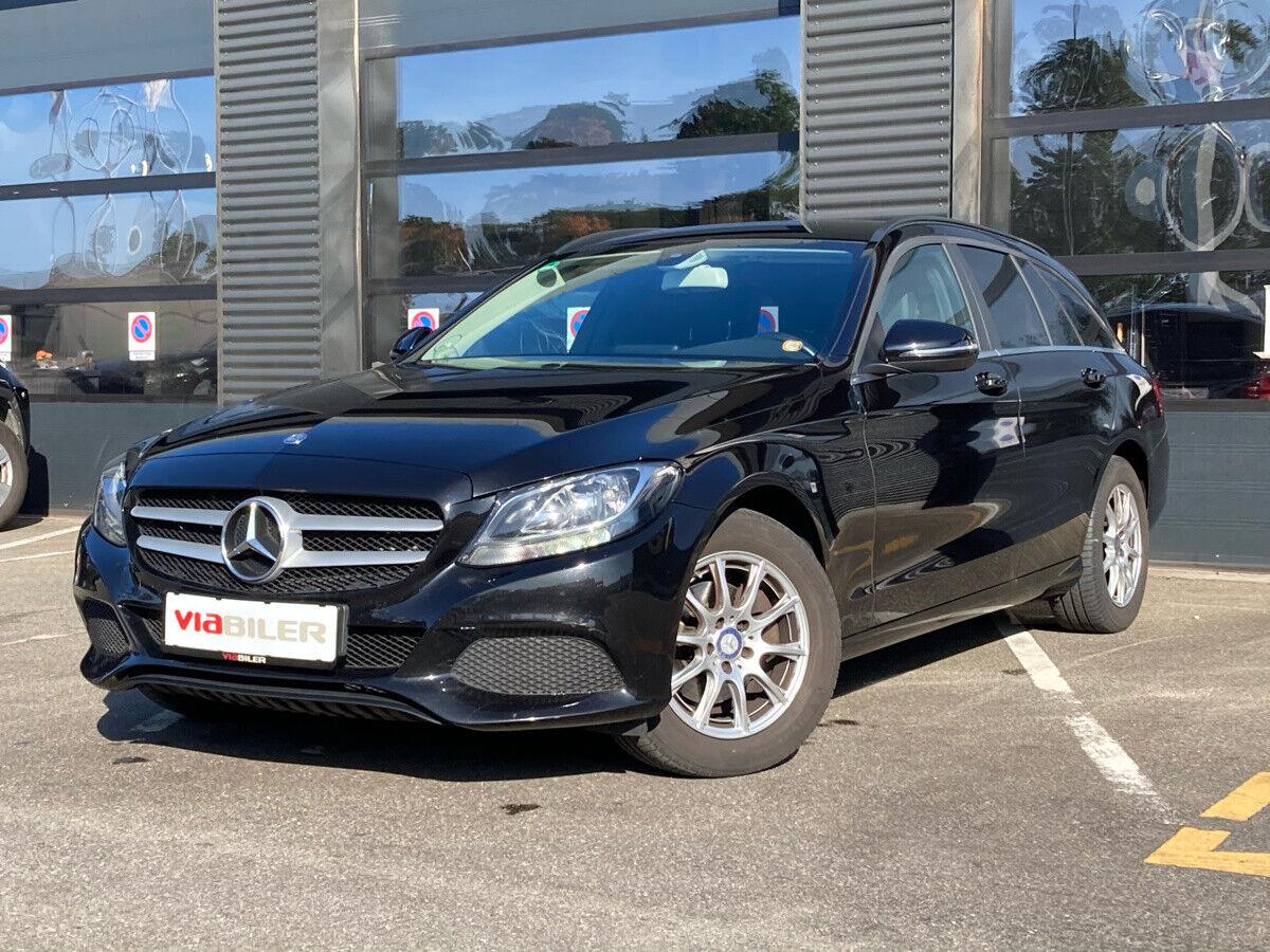Mercedes C200 d 1,6 Business stc. 5d - 209.900 kr.