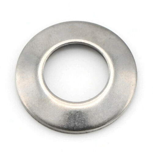 Belleville Washers Conical Spring Cup Stainless Steel Washers All Sizes QTY 100
