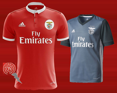 sports shoes cac2c e1185 SL Benfica jersey 2017 2018   eBay