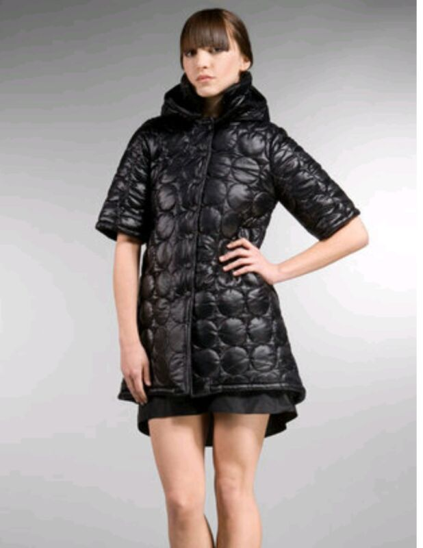 Anzevino Florence Quilted Women's Black Nylon Fill Jacket Size Medium A Complete Range Of Specifications
