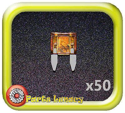 FUSE Wedge Standard ATS Blade 5 Amp Orange