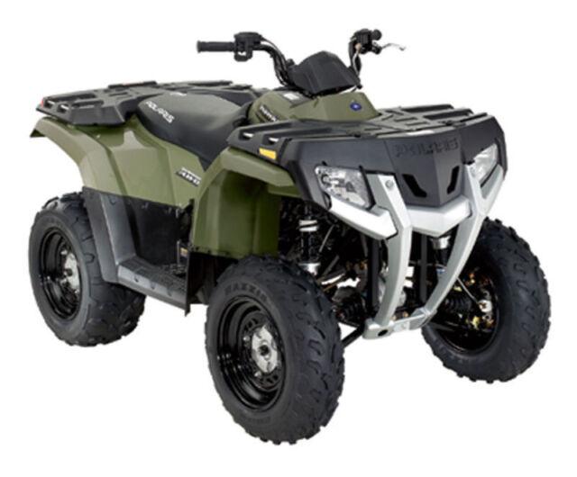 s l640 oem polaris hawkeye 300 rear fender green 2633512 400 ebay