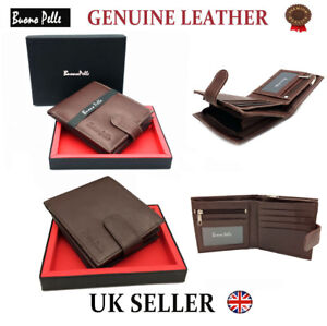 MENS-RFID-LEATHER-WALLET-DESIGNER-BUONO-PELLE-QUALITY-CREDIT-CARD-COIN-HOLDER