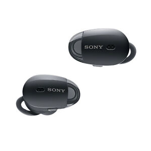 Sony WF1000X Wireless Noise Canceling Headphones Black