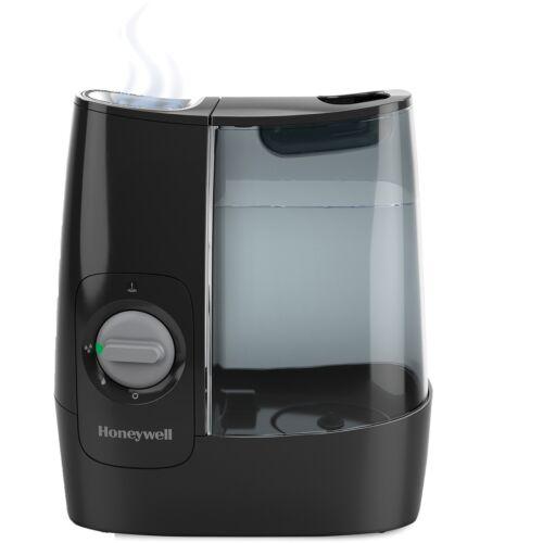 """Honeywell Humidifier Warm Mist 7/""""Wx11-1//2/""""Lx12/""""H Black HWM845B"""