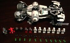 Custom Lego Star Wars Jedi turned Imperial Defender class ship W/11 Mini-Figs