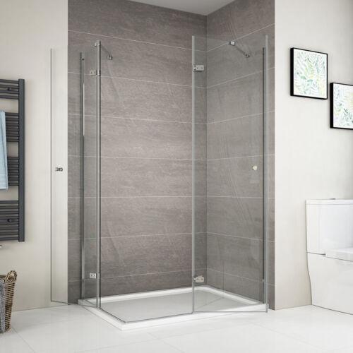 Duschabtrennung Duschkabine 80x80 90x100 90x120 Duschwand Drehtür Dusche Glastür