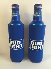 Bud Light Beer 24 Oz Koozie Set Of 2 Fits 25 Oz Extra