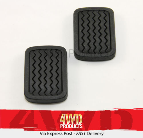 for Nissan 720 4WD 1.8P 2.2D 2.5D 80-85 Brake//Clutch Pedal Pad SET