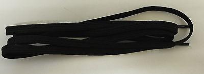 Par De Cordones Negro 1.4 m largo