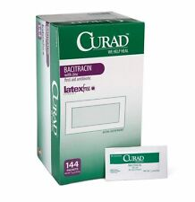 MEDLINE CUR001109 Curad Bacitracin Ointment 0.9g Foil Pack First Aid Pack of 144