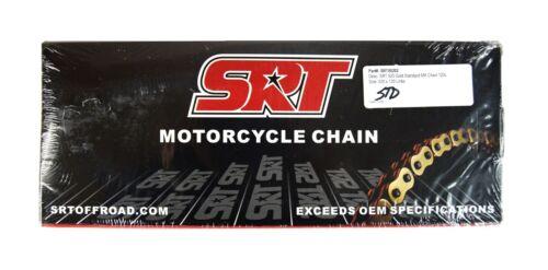 SRT00202 SRT Offroad 520 Gold Standard Dirtbike Chain 520x120 Links Motocross
