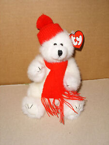 Ty Peppermint Love Me True Jointed Bear With Tag For Fast Shipping Beanie Babies-original Ty