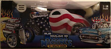 Muscle Machine 1:18 Scale '41 Willys Coupe American Flag