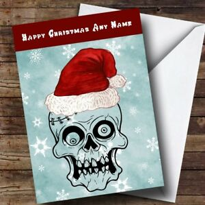 Funny Scary Chucky Personalised  Christmas Greetings Card