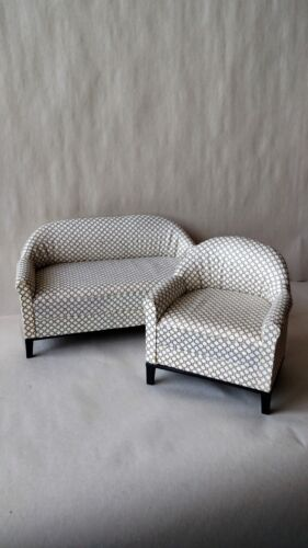 Sofa Set 4300CD Economy Priced 1:6 Scale Furniture for Fashion Dolls  2pc