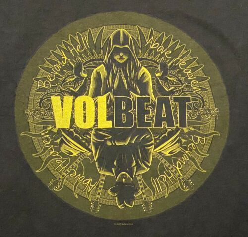 Volbeat 2010 Tour T Shirt XL