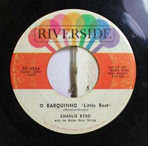 Jazz-45-Charlie-Byrd-O-Barquinho-Medtacad-On-Riverside