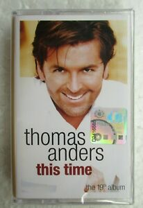 This-Time-by-Thomas-Anders-Rare-2004-Malaysia-Cassette-Tape-New-Sealed