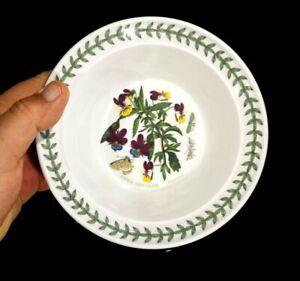 Beautiful-Portmeirion-Botanic-Garden-Heartsease-Rim-Cereal-Bowl