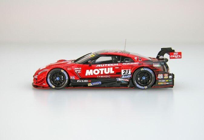45504 Ebbro Ebbro Ebbro 1 43 Nissan Motul Autech GT-R Super GT500'17  23 RD 8 Motegi ganador ce2b46