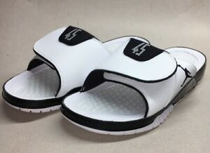 new styles 50f96 62de5 Details about Nike Air Jordan Hydro XI Retro 11 Slides AA1336-107 Concord  White Men's Size 8