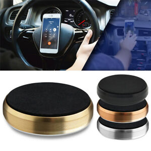 Hands-free-Car-Magnetic-Universal-Steering-Wheel-Phone-Holder-Stands-Suction-Pad