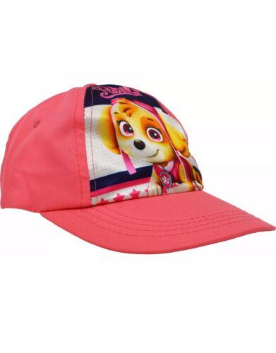 PINK Paw Patrol Cap//Cappello-Skye-per bambini-KIDS-Bambina con licenza Cappellino-SUN-NUOVO