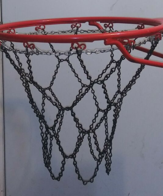 Basketball chain net stainless steel 12 gauge Industrial Strength chain.