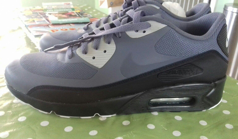 Bnwob Nike Air Max 90 Ultra 2.0 noir, (environ 5.08 cm) couleur noir, 2.0 gris, taille 9,rrp . 82ad21