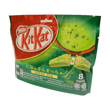NEW NESTLE 8X17g KIT KAT WAFER MATCHA GREEN TEA JAPANESE SNACK CHOCOLATE