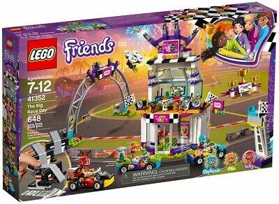 LEGO Friends the Big Race Day 41352 Neuf en Boîte Envoi Gratuit